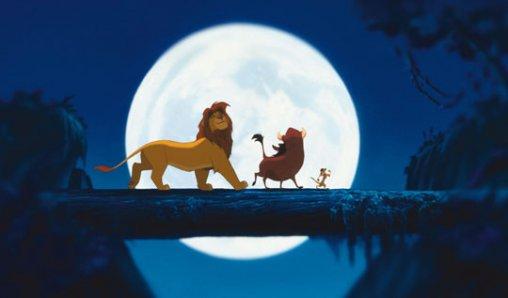 The Lion King Simba Pumbaa and Timon