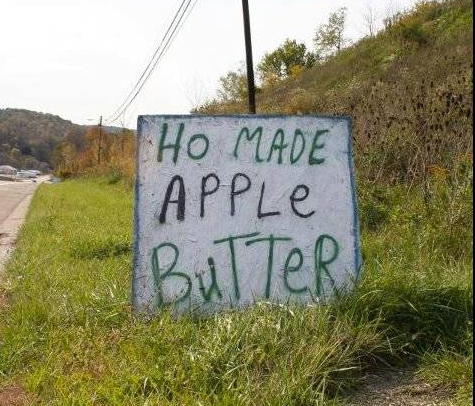 Ho Made Apple Butter - The Real Stuff!