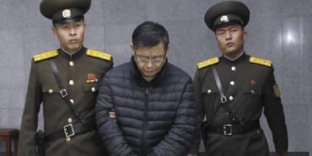 Korea Utara Tahan seorang pria yang diduga Intelijen Amerika Serikat