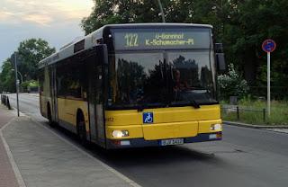 "#Bus: 1412 ohne ""be Berlin"""