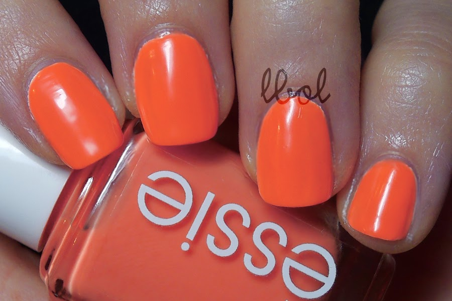 Essie Summer Neon 2014 Serial Shopper Swatch