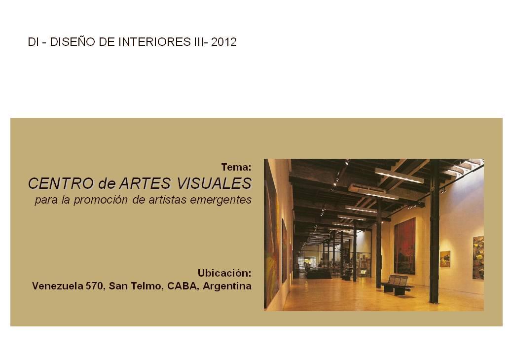 Facultad de arquitectura dise o arte y urbanismo for Universidades para diseno de interiores