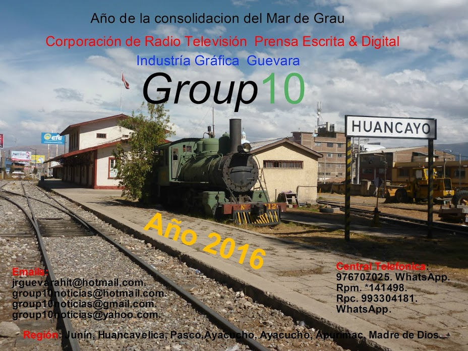 """Group 10 Noticías-Huancayo"""