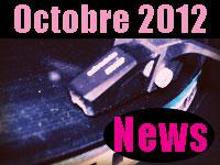 Les brèves musicales d'Octobre 2012