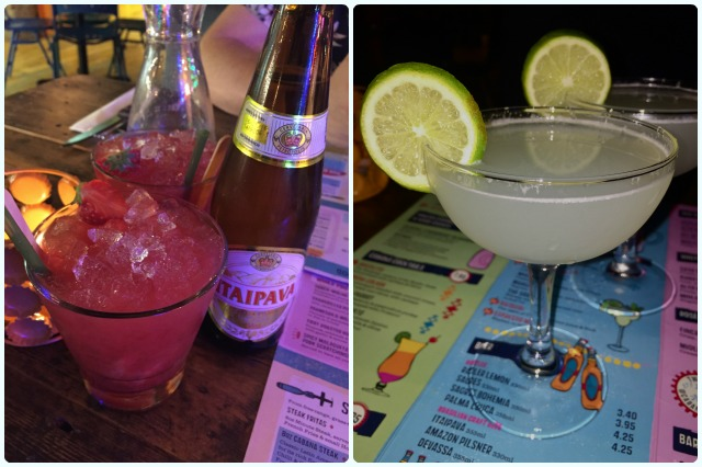 Cabana, Manchester - Drinks