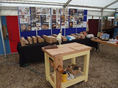 David Barron Furniture: Yandles woodworking show.