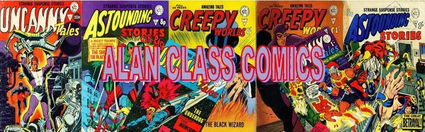 ALAN CLASS COMICS