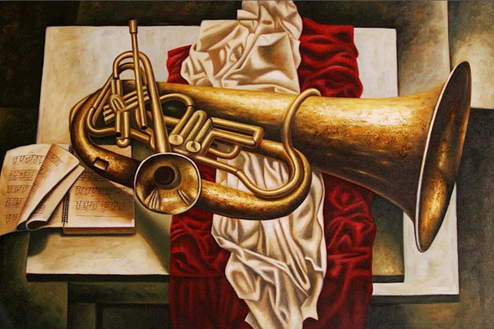 Cuadros modernos pinturas y dibujos bodegones musicales - Lo ultimo en cuadros modernos ...