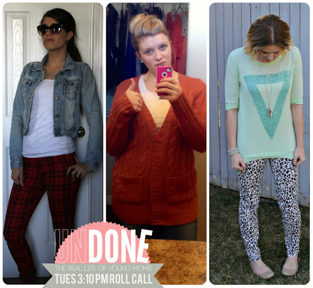 {The Undone Blog} Real Life Mom Fashion - 3:10 PM on a Tuesday