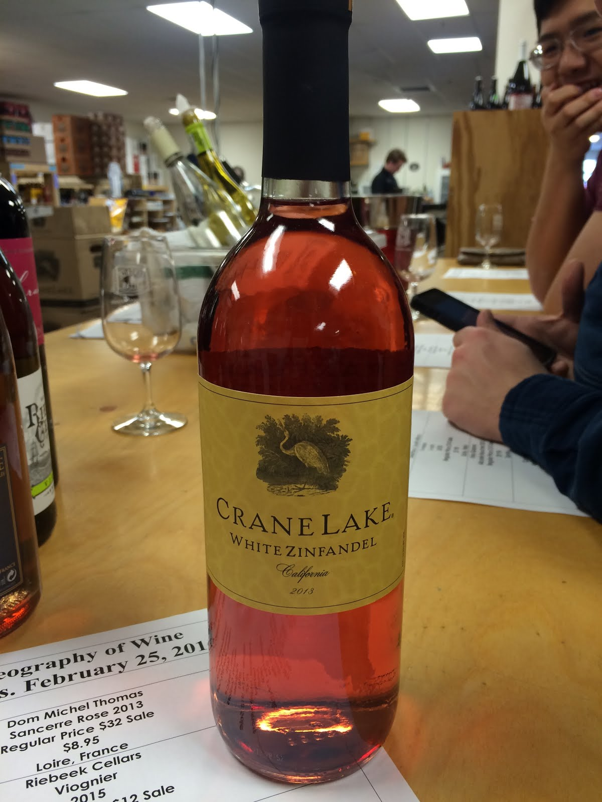 Vintage Cellar Review Light pink wine with floral and tropical aromas flavors of strawberry ... & Caitlin Brownu0027s Wine Blog: Tasting - Crane Lake White Zinfandel