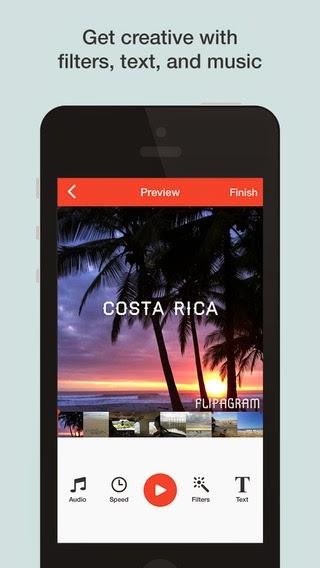تطبيق مجاني لإنشاء فيديوهات وقصص قصيرة من صورك للأندرويد وiOS وويندوز فون Flipagram APK-xap-iOS