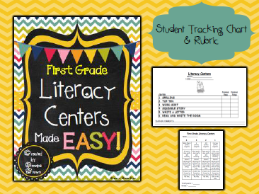 picture about Printable Literacy Centers First Grade named Literacy Facilities Intended Uncomplicated! - Train Outside the house the Box