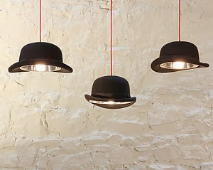 Handmade hat lights - Mr J Designs | Objets de Désir