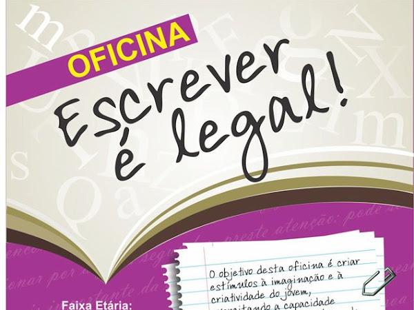 Oficina Escrever é Legal! com a Carolina Estrella