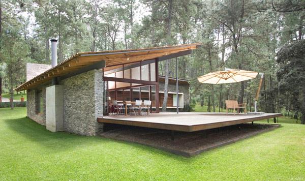 Toc casa contempor nea con un impresionante dise o en for Diseno exterior casa contemporanea