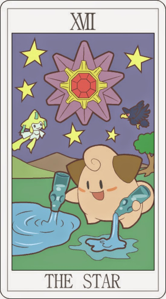Pokemon Tarot - The Star