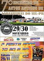 Laranjeiras do Sul:Vem aí o 7ª encontro da autos antigos , dias 29 e 30 de novembro