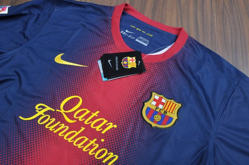 jersey barcelona home 2013