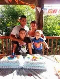Yismelis Perez y Familia
