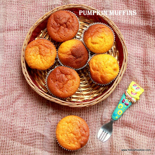 Pumpkin Muffins Recipe , Step by Step