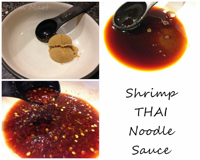 Shrimp THAI Noodle sauce Recipe: Quick and Easy Dinner #Seafood #Recipe #Healthy