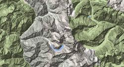 Manaslu Topo Map