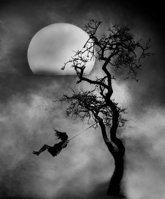 لوحات فنية بعدسة الفنان سكارابوس life-black-and-white