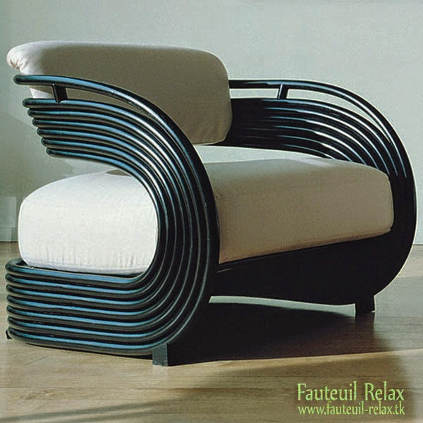 fauteuil design en rotin nastro fauteuil relax. Black Bedroom Furniture Sets. Home Design Ideas