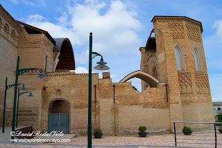 Magallon Moncayo Iglesia Santa María de la Huerta Comarca Campo de Borja aragon