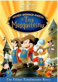 Filme Mickey, Donald & Pateta Os Três Mosqueteiros Dublado AVI DVDRip