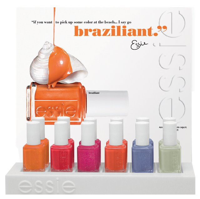 Coming Soon From Essie: Resort & Braziliant