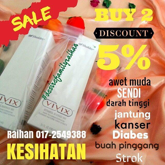 VIVIX 5% DISCOUNT