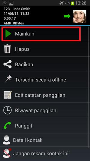 Cara Merekam Pembicaraan di HP Android