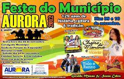 Festa do Município de 09 a 10 de novembro