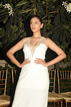 White Dress Cleavage