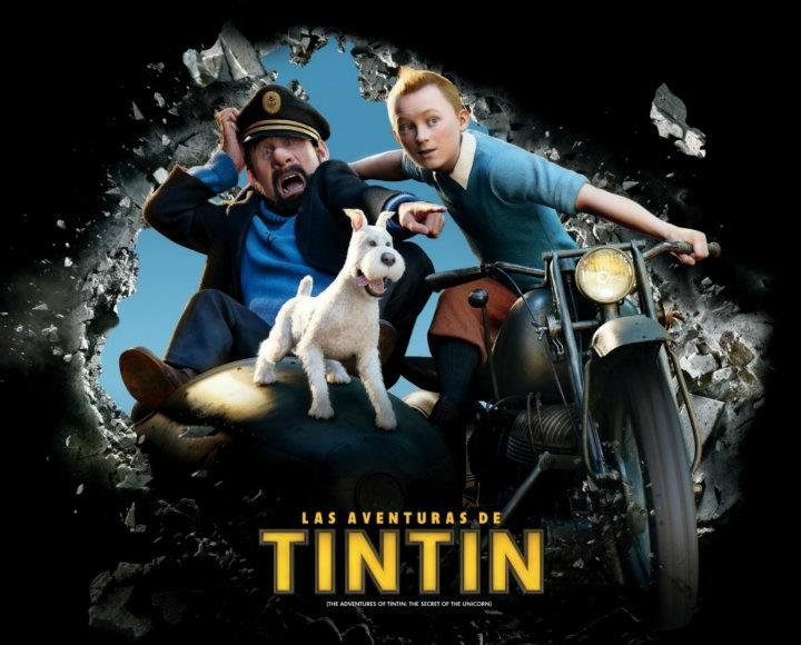 Adventures Of Tintin Movie Trailer