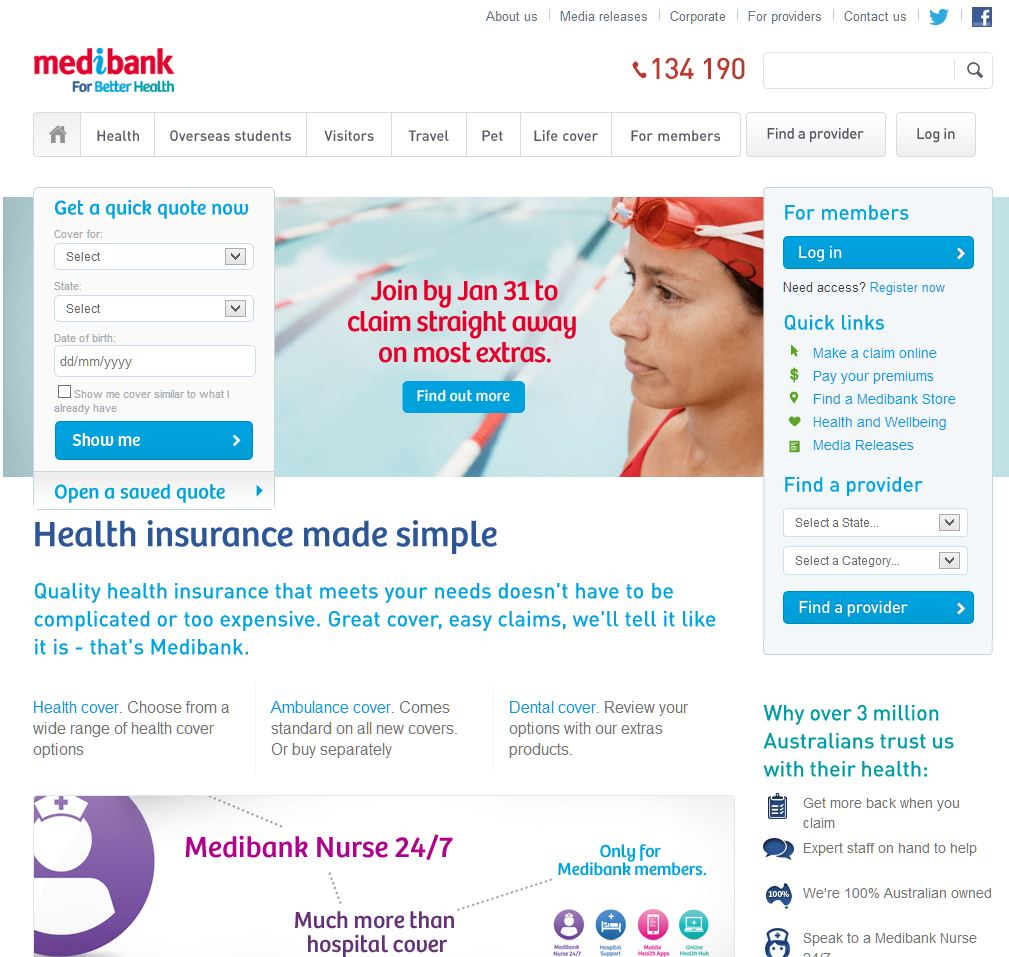 MEDIBANK PRIVATE LIMITED