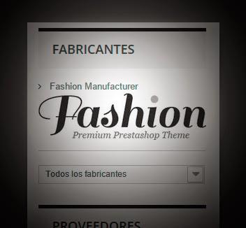 Vista previa de logos del bloque fabricantes y proveedores de Prestashop