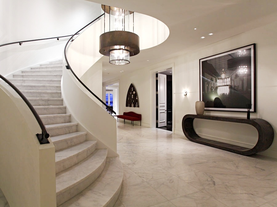Limestone Foyer Flooring : See this house a mysterious million dollar newport