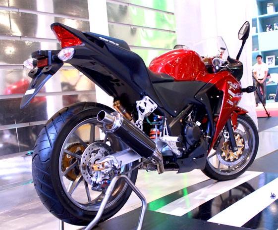 Modifikasi Honda CBR 250R Asal Thailand_1. title=