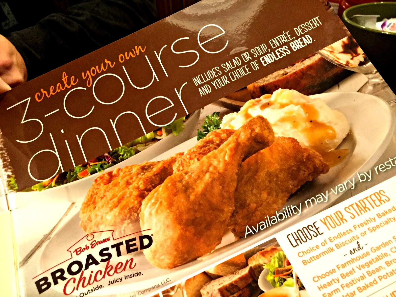 Restaurant Review: Bob Evans 3-Course Dinner | The Food Hussy!