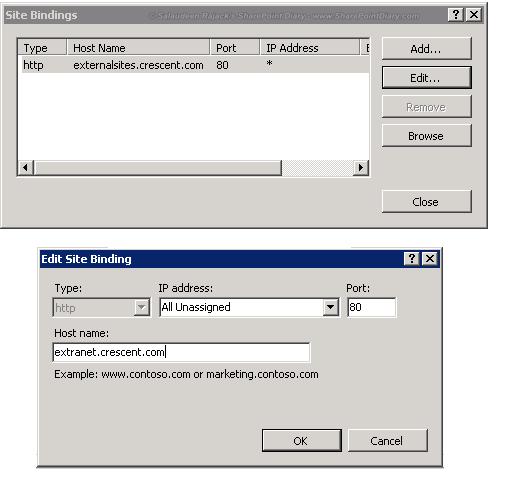 sharepoint change url of web application