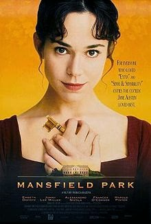 Mansfield Park 1999 DVD Cover