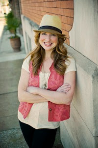 Photo of Rachel Macy Stafford aka Hands Free Mama