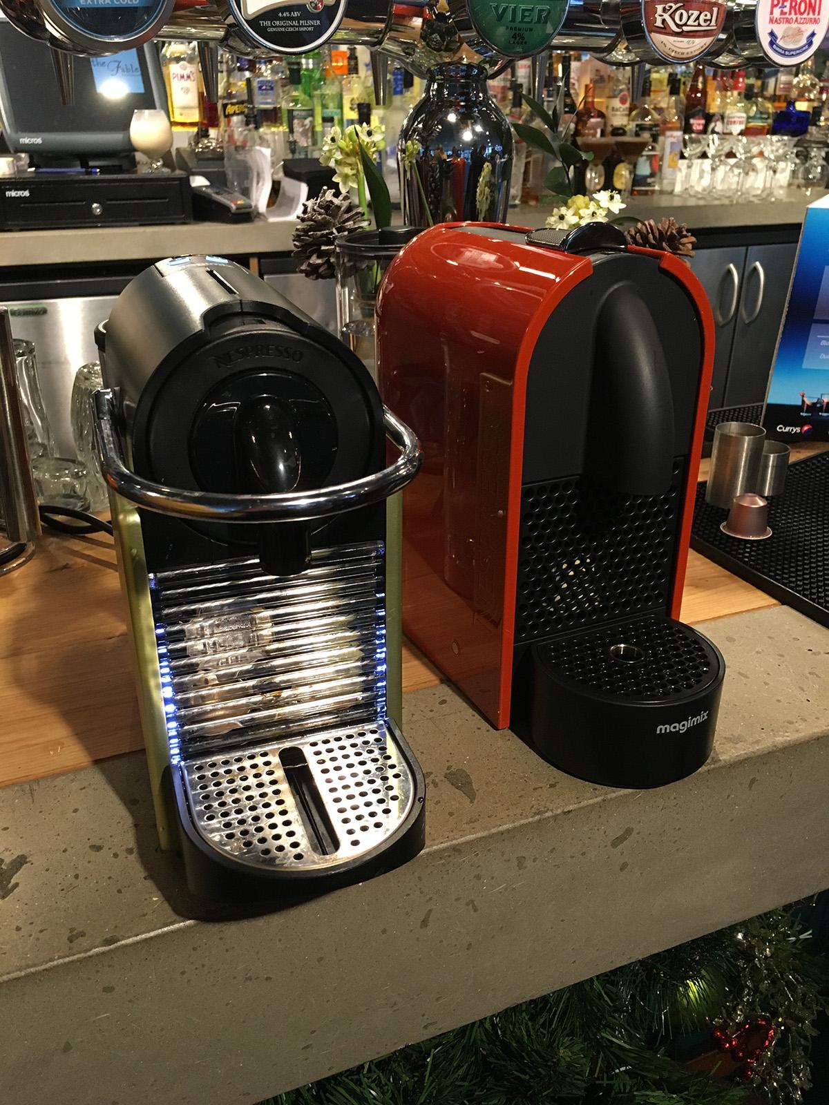 Coffee With Currys & Nespresso