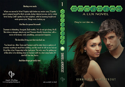 cover flat 3 Obsidian Cover Reveal and Blurb