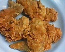 Ayam goreng crispy - chicken wing fried chicken