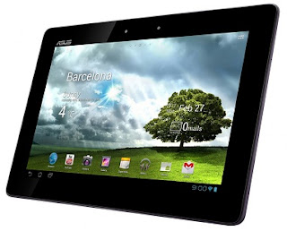  Leaked specs of ASUS branded Tablet
