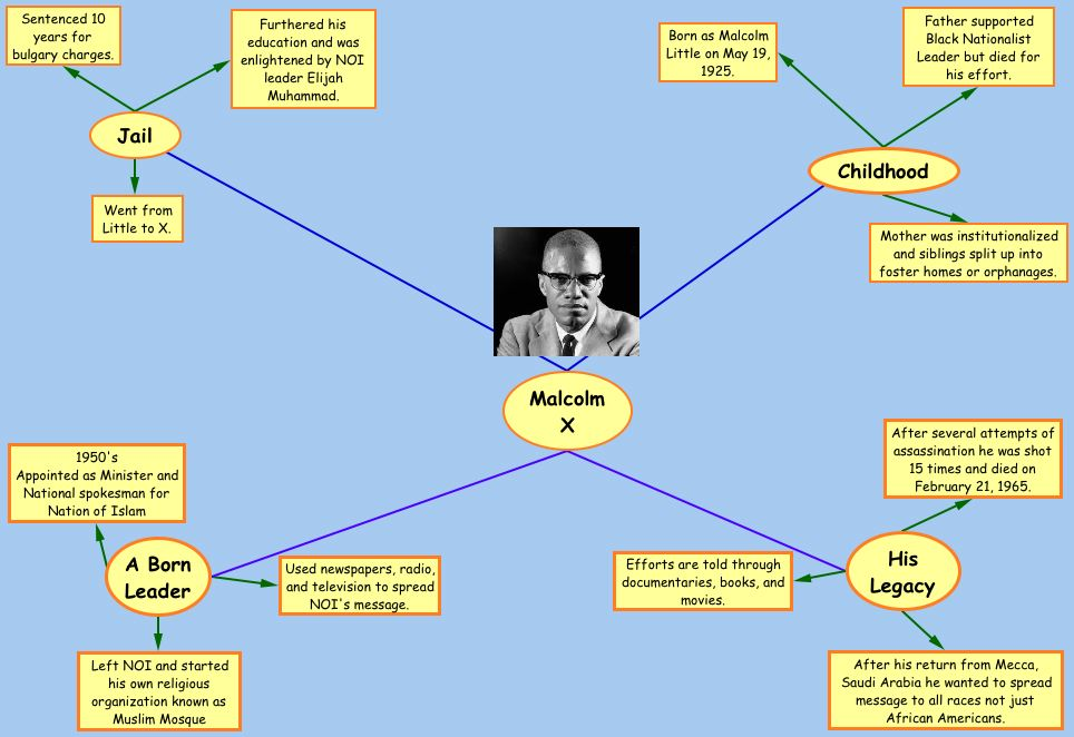 essay questions on malcolm x How would the autobiography of malcolm x be different if it didn't begin with malcolm's childhood how would the story change if it.