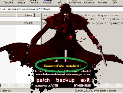 langkah patch IDM